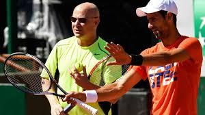 Djokovic e Agassi 1