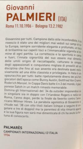 """Dal volume """"Galleria dei Campioni 1930-2016"""", che contiene l'albo dei vincitori degli Internazionali BNL d'Italia"""